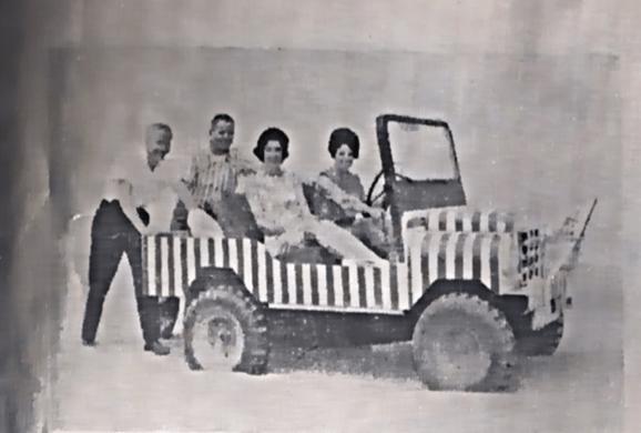 old photo Ocean Shores Car