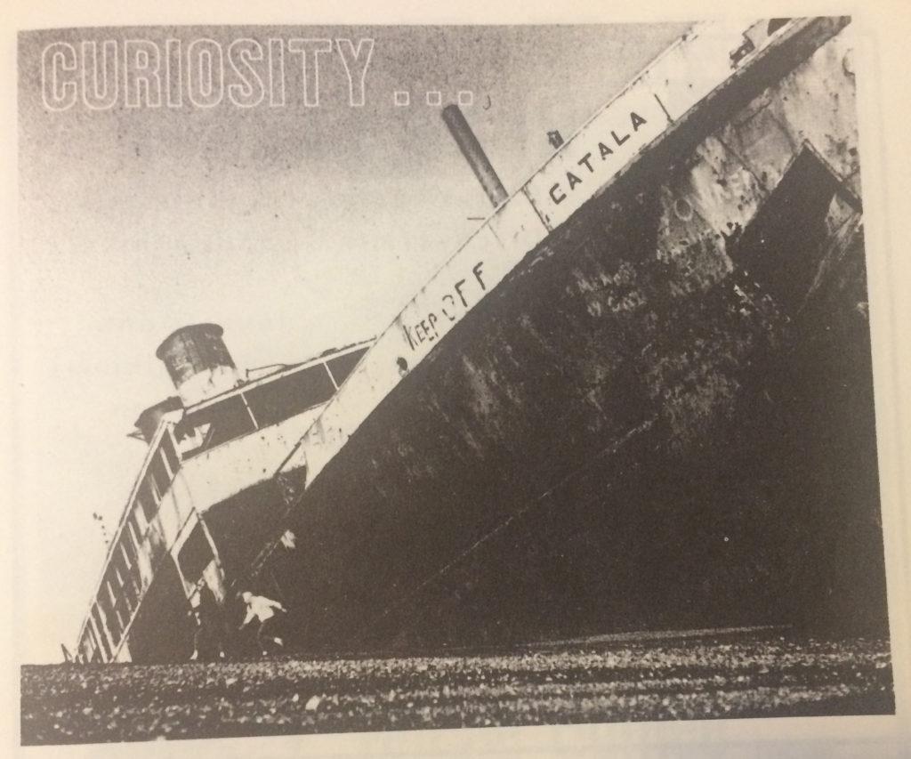 SS Catala shipwreck at Ocean Shores