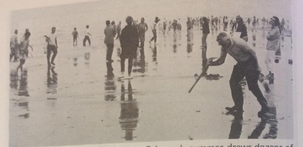 clamming at Ocean Shores 1970
