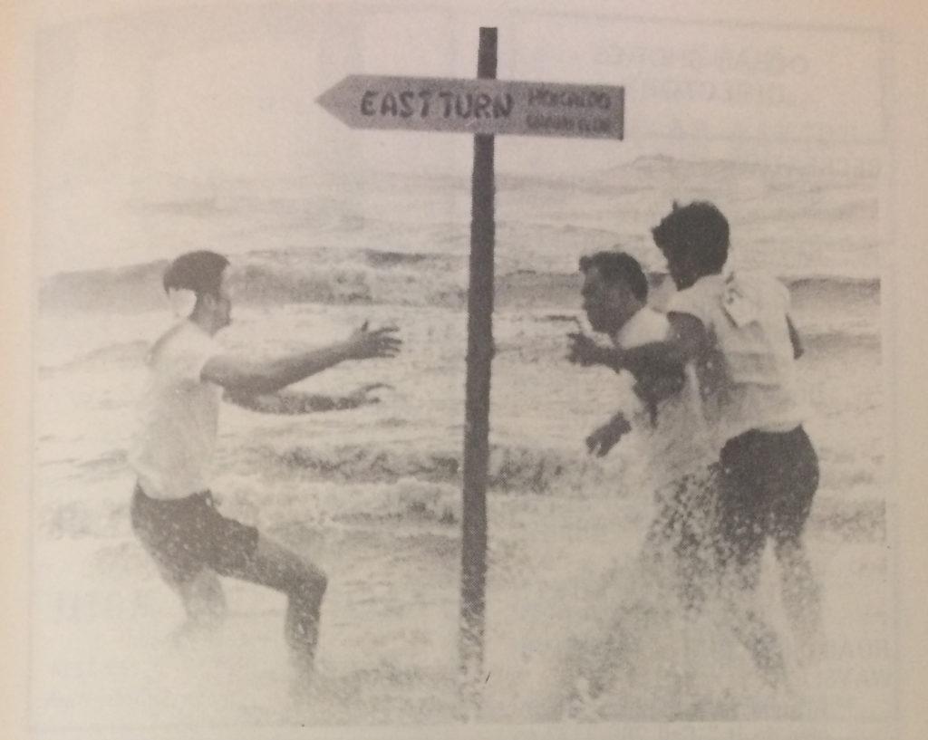 Ocean Shores vintage picture of the Fog Festival