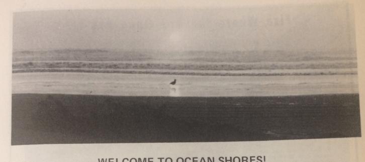 vintage beach photo Ocean Shores