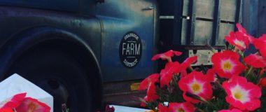 farm truck at seabrook, wa