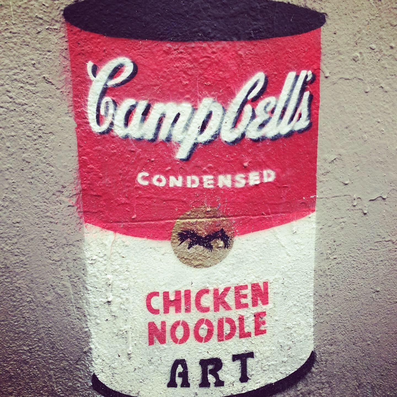 aberdeen, ,Wa art campbell's soup can