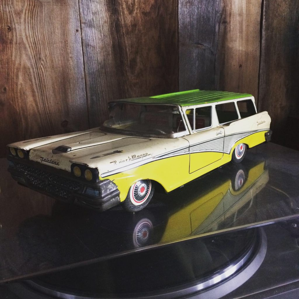 yellow and green ford fairlane
