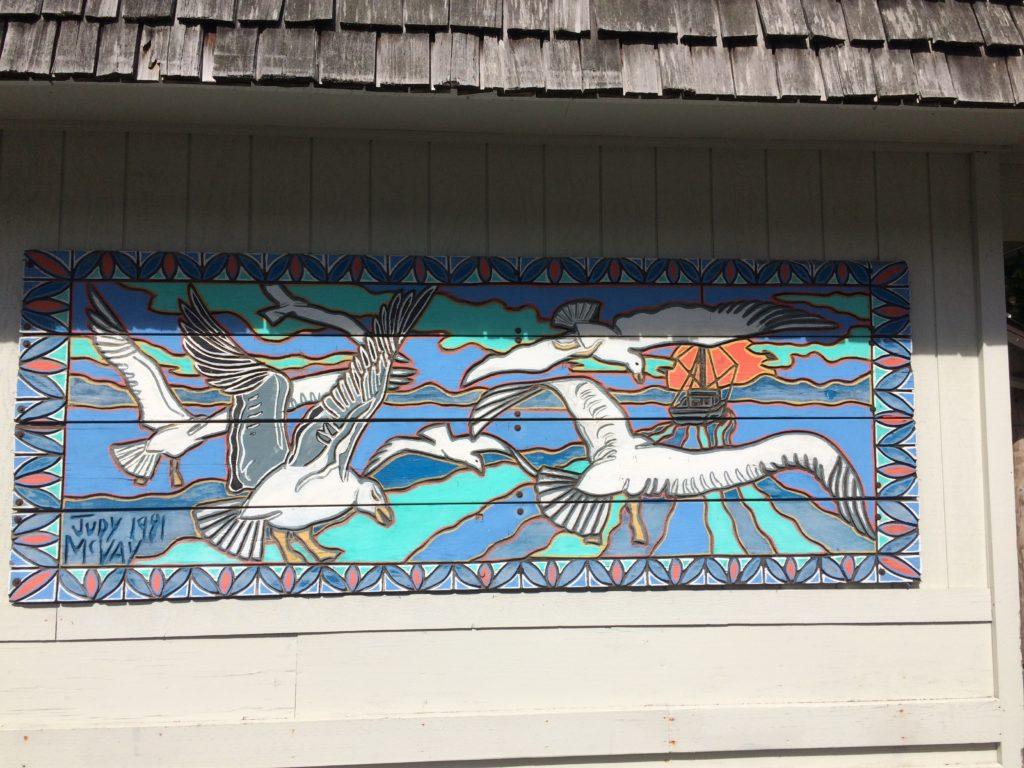 Judy McVay mural at Ocean Crest Resort