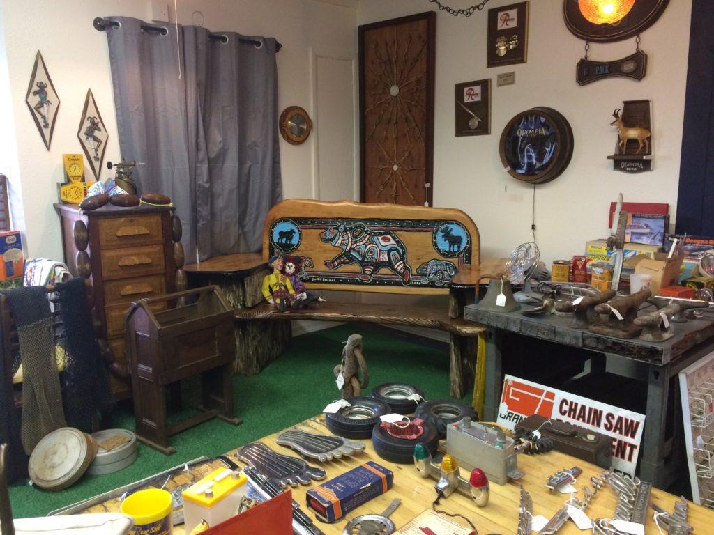 Judy McVay Bear Bench for sale at Sooz Rusty Nail