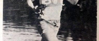 guy winning 1973 fog festival race in ocean shores, wa