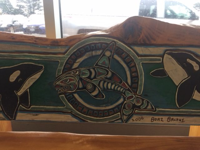 Judy McVay orca benches