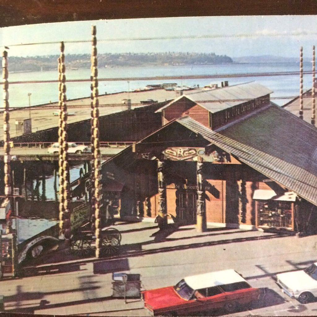 Vintage Seattle Ye Olde Curiosity Shop