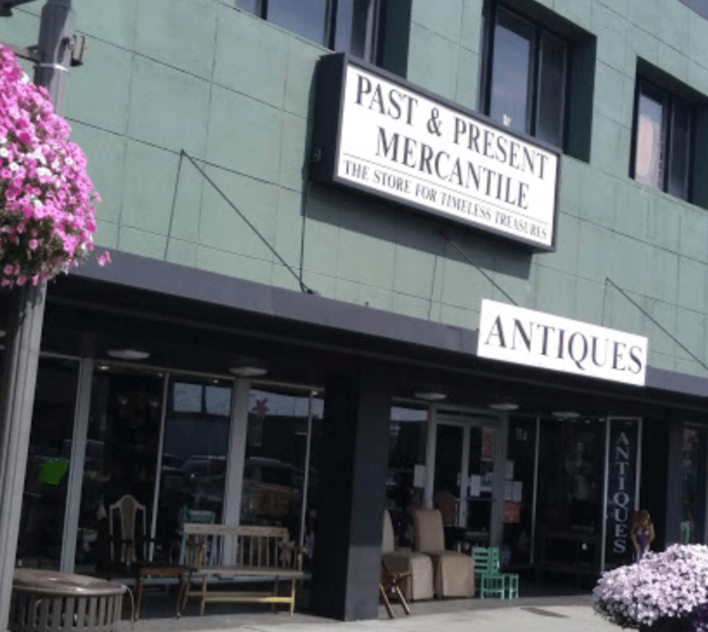 antique shop past and present mercantile aberdeen, wa