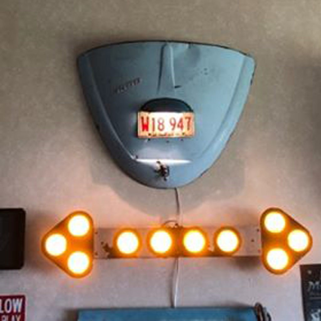 VW Bug Tailgate light