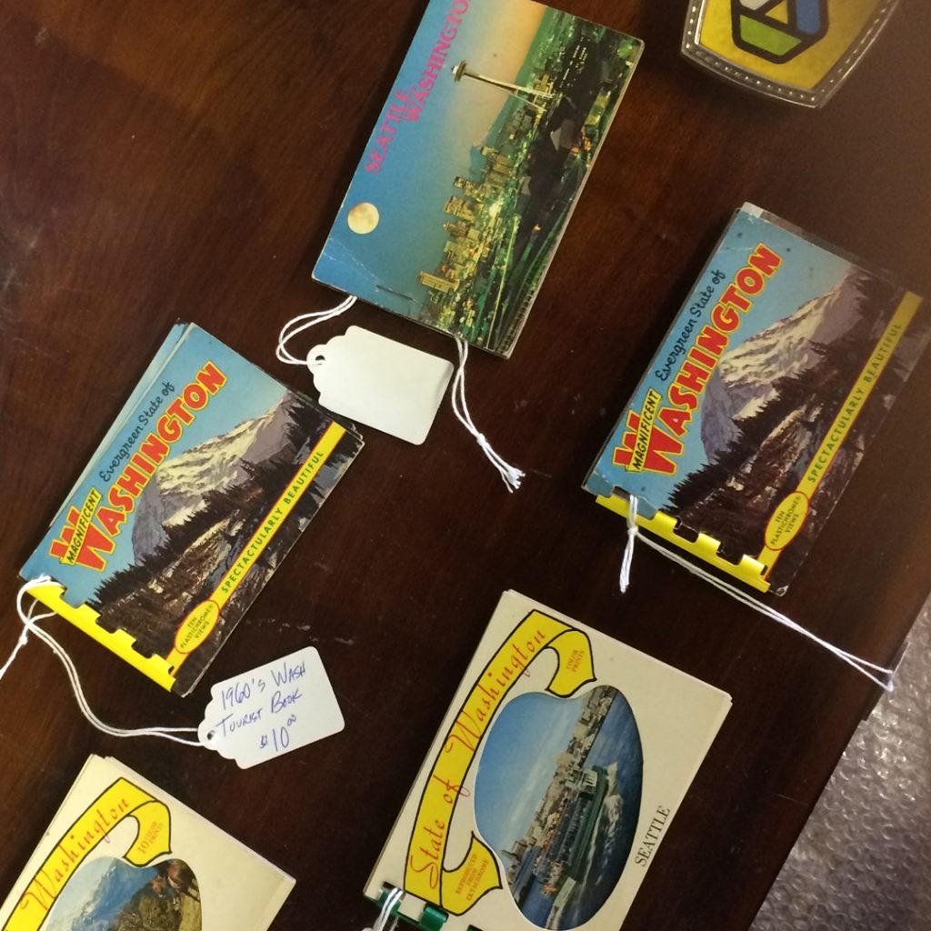 1960's washington state tourist booklets