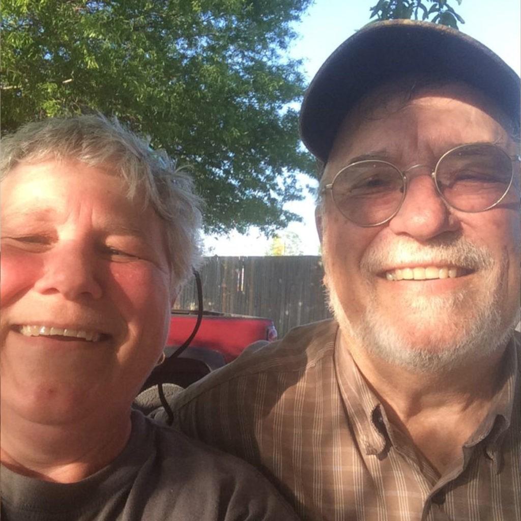 Sue Darcy and Ken Groves