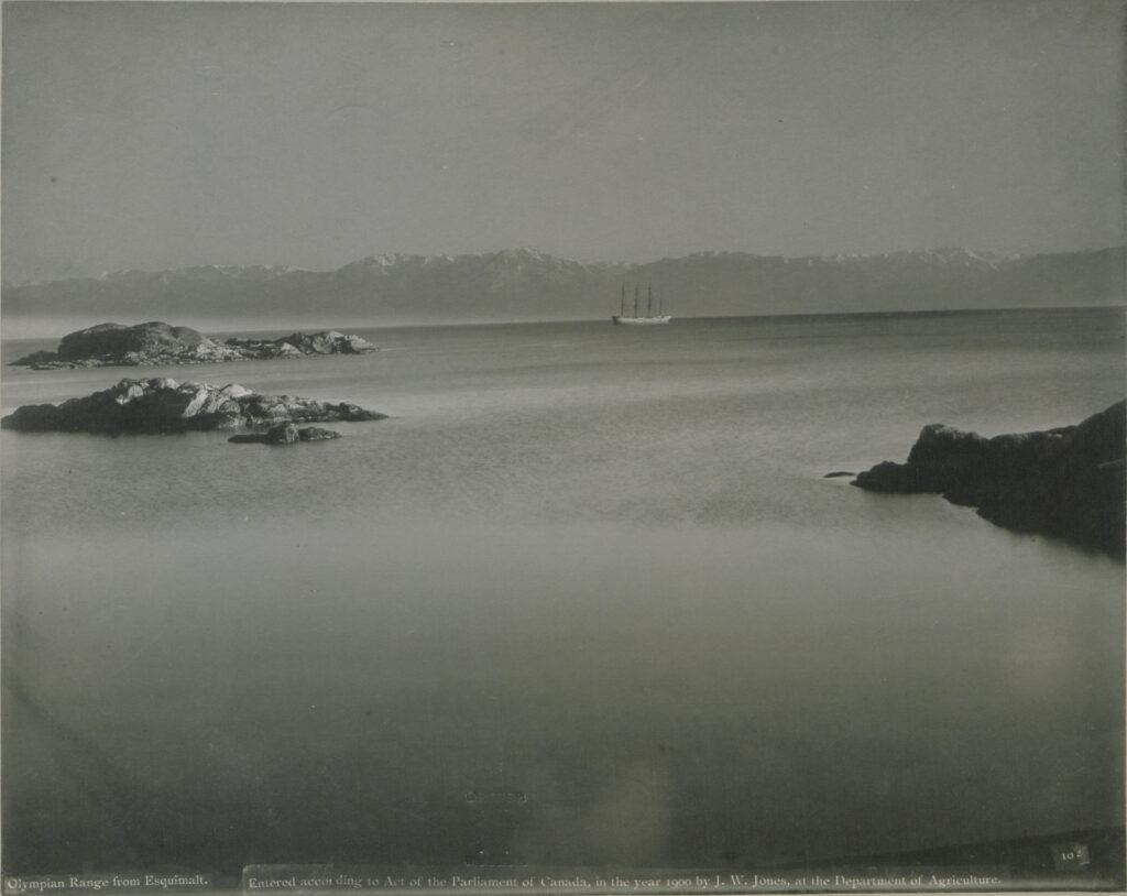 straight of juan de fuca 1900